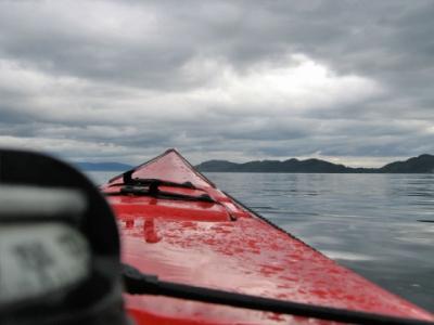 Kajakk på Bjørnefjorden