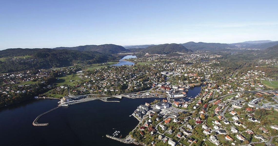 Flyfoto Osøyro